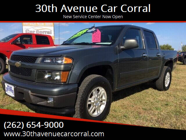 2011 Chevrolet Colorado for sale at 30th Avenue Car Corral in Kenosha WI