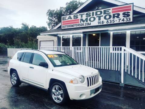 2007 Jeep Compass for sale at EASTSIDE MOTORS in Tulsa OK