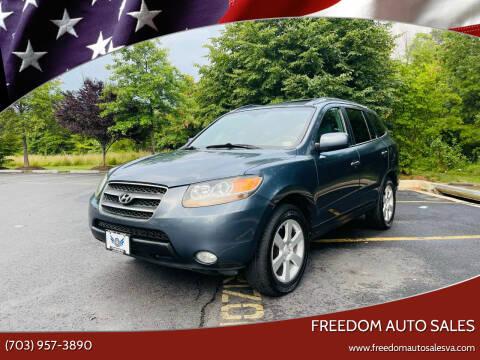 2007 Hyundai Santa Fe for sale at Freedom Auto Sales in Chantilly VA
