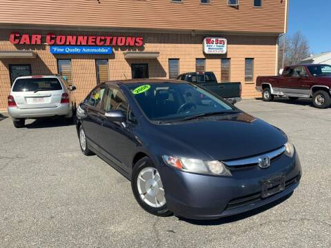 2008 Honda Civic for sale at CAR CONNECTIONS in Somerset MA