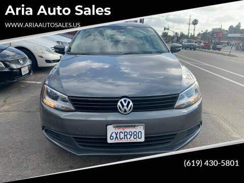 2012 Volkswagen Jetta for sale at Aria Auto Sales in El Cajon CA
