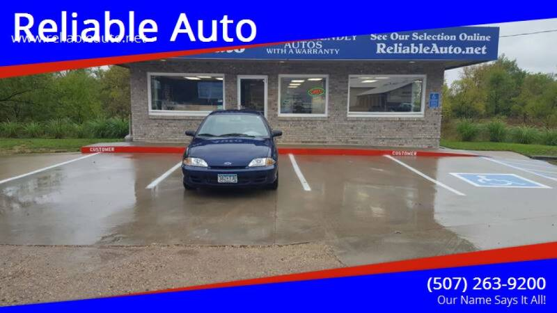2001 Chevrolet Cavalier for sale at Reliable Auto in Cannon Falls MN