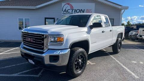 2017 GMC Sierra 2500HD for sale at Action Motor Sales in Gaylord MI