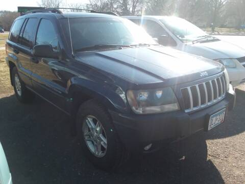 2004 Jeep Grand Cherokee for sale at Sunrise Auto Sales in Stacy MN