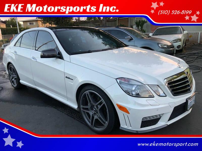 2011 Mercedes-Benz E-Class for sale at EKE Motorsports Inc. in El Cerrito CA
