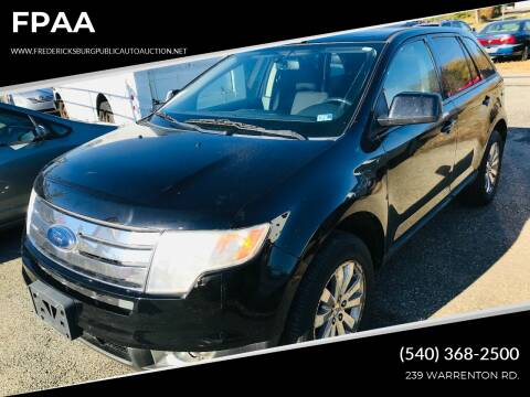 2009 Ford Edge for sale at FPAA in Fredericksburg VA