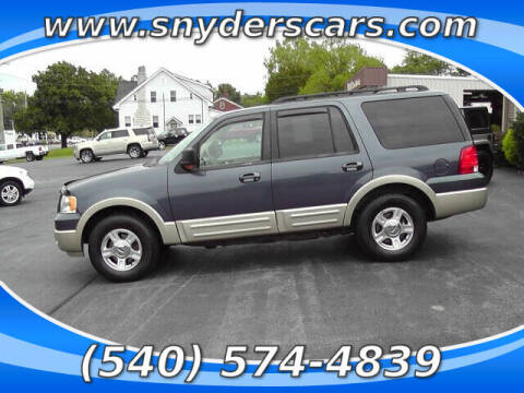 2005 Ford Expedition for sale at Snyders Auto Sales in Harrisonburg VA