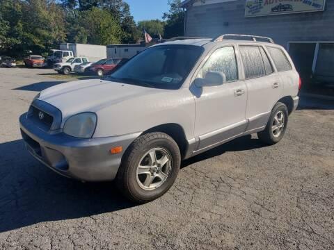 2004 Hyundai Santa Fe for sale at AUTOMAR in Cold Spring NY