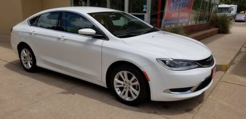 2015 Chrysler 200 for sale at Swift Auto Center of North Platte in North Platte NE