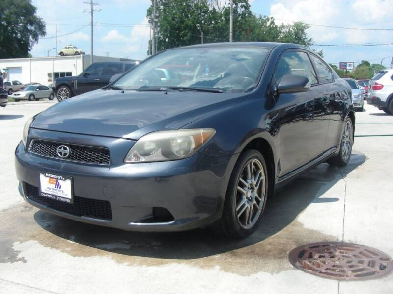 2007 Scion tC for sale at EURO MOTORS AUTO DEALER INC in Champaign IL