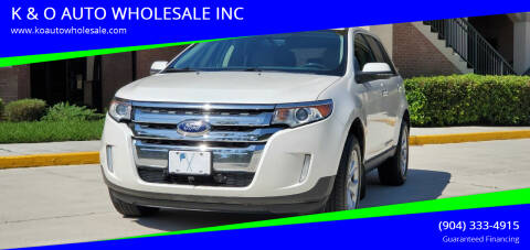 2014 Ford Edge for sale at K & O AUTO WHOLESALE INC in Jacksonville FL