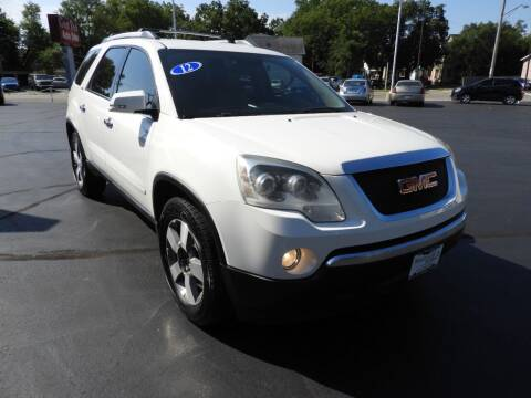 2012 GMC Acadia for sale at Grant Park Auto Sales in Rockford IL