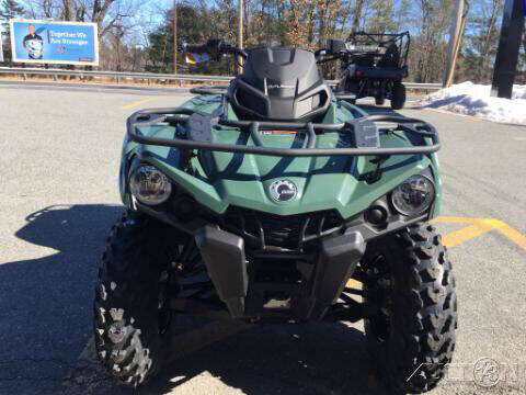 2021 Can-Am OUTLANDER 450 DPS for sale at ROUTE 3A MOTORS INC in North Chelmsford MA