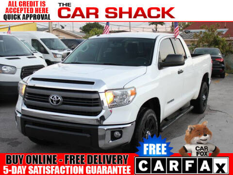 2014 Toyota Tundra for sale at The Car Shack in Hialeah FL