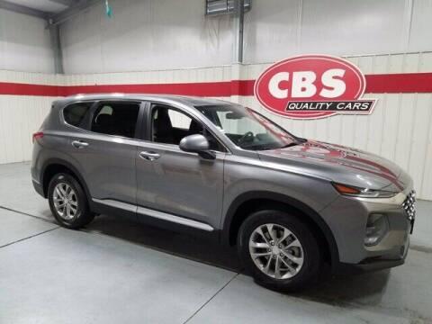 2020 Hyundai Santa Fe for sale at CBS Quality Cars in Durham NC