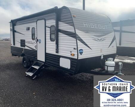 2022 KEYSTONE HIDEOUT 186SS for sale at SOUTHERN IDAHO RV AND MARINE - New Trailers in Jerome ID