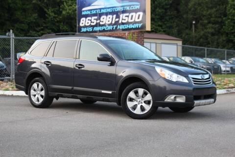 2011 Subaru Outback for sale at Skyline Motors in Louisville TN