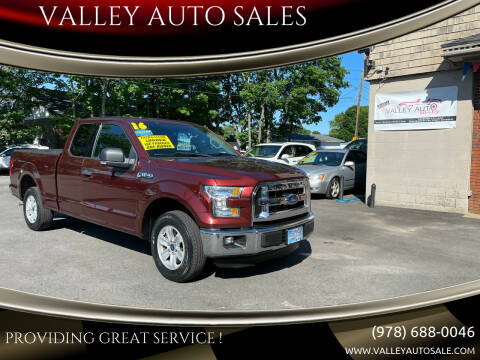 2016 Ford F-150 for sale at VALLEY AUTO SALES in Methuen MA