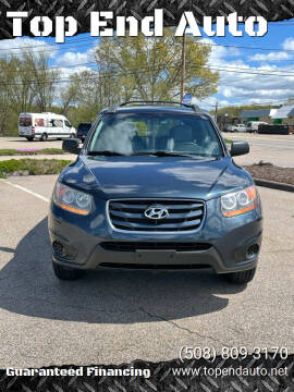2010 Hyundai Santa Fe for sale at Top End Auto in North Atteboro MA