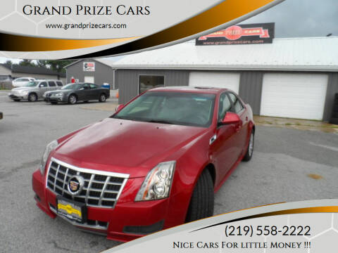 2012 Cadillac CTS for sale at Grand Prize Cars in Cedar Lake IN
