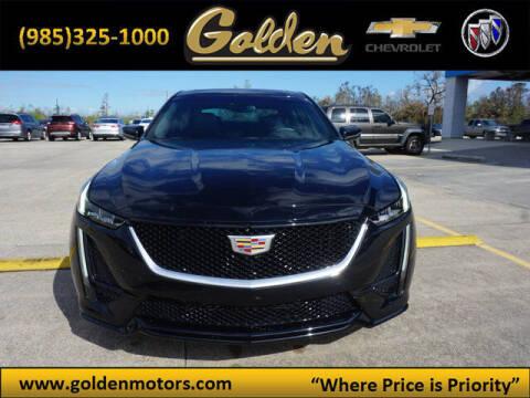 2020 Cadillac CT5 for sale at GOLDEN MOTORS in Cut Off LA