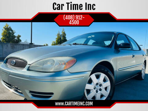 2005 Ford Taurus for sale at Car Time Inc in San Jose CA