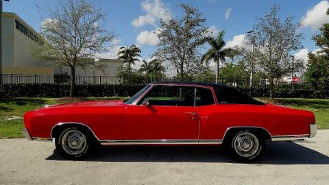 1971 Chevrolet Monte Carlo for sale at Premier Luxury Cars in Oakland Park FL