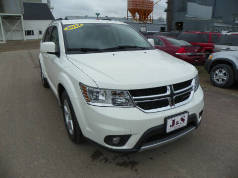 2012 Dodge Journey for sale at J & S Auto Sales in Thompson ND