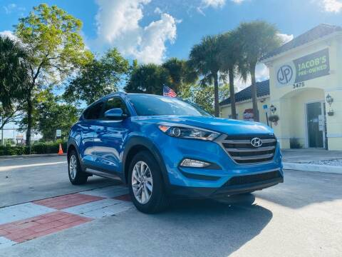 2016 Hyundai Tucson for sale at Jacobs Pre-Owned in Lake Worth FL