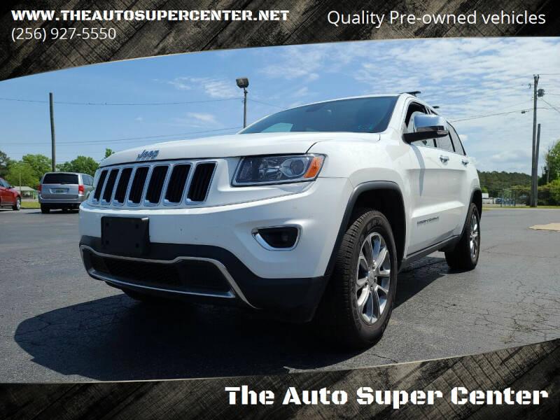 2014 Jeep Grand Cherokee for sale at The Auto Super Center in Centre AL