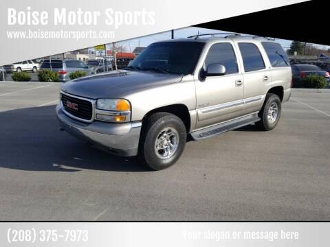 2003 GMC Yukon for sale at Boise Motor Sports in Boise ID