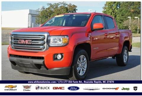 2020 GMC Canyon for sale at WHITE MOTORS INC in Roanoke Rapids NC