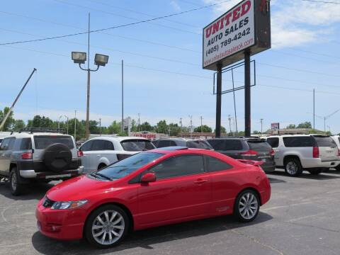 2010 Honda Civic for sale at United Auto Sales in Oklahoma City OK