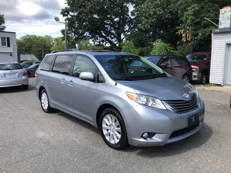 2012 Toyota Sienna for sale at Chris Auto Sales in Springfield MA
