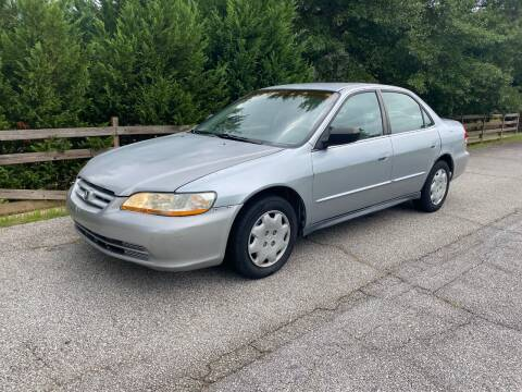 2002 Honda Accord for sale at Front Porch Motors Inc. in Conyers GA