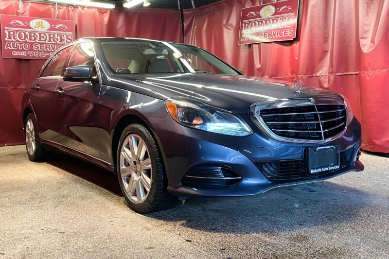 2014 Mercedes-Benz E-Class for sale at Roberts Auto Services in Latham NY