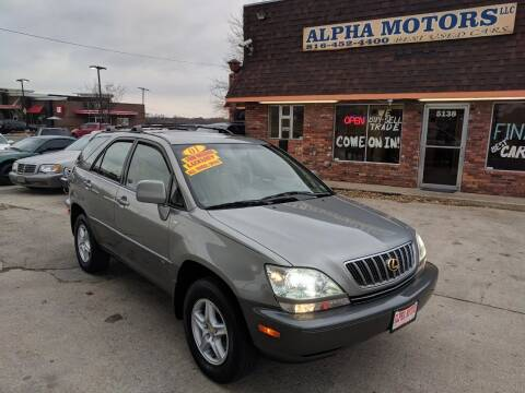 2001 Lexus RX 300 for sale at Alpha Motors in Kansas City MO