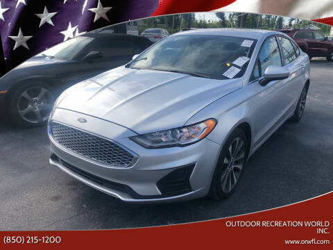 2019 Ford Fusion for sale at Outdoor Recreation World Inc. in Panama City FL