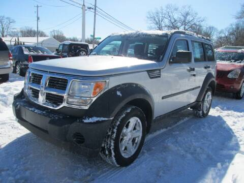 2008 Dodge Nitro for sale at Jims Auto Sales in Muskegon MI