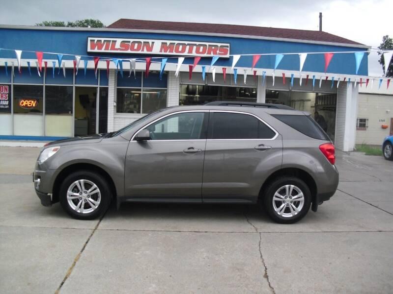 2012 Chevrolet Equinox for sale at Wilson Motors in Junction City KS