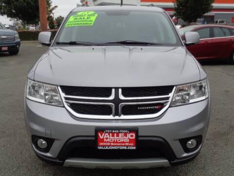 2015 Dodge Journey for sale at Vallejo Motors in Vallejo CA