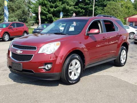 2011 Chevrolet Equinox for sale at Thompson Motors in Lapeer MI