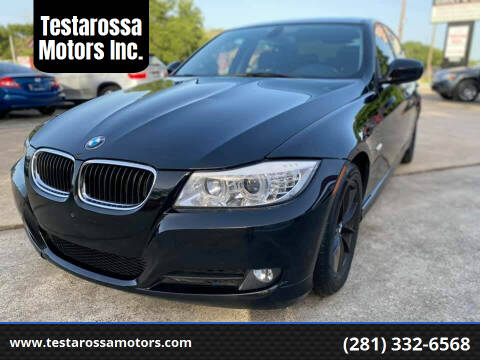 2010 BMW 3 Series for sale at Testarossa Motors Inc. in League City TX