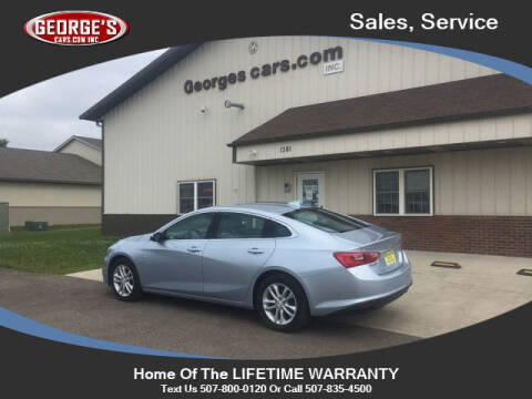 2018 Chevrolet Malibu for sale at GEORGE'S CARS.COM INC in Waseca MN