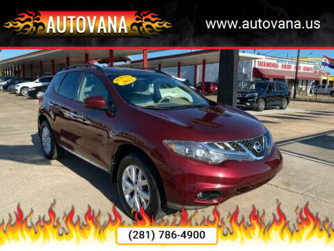 2012 Nissan Murano for sale at AutoVana in Humble TX