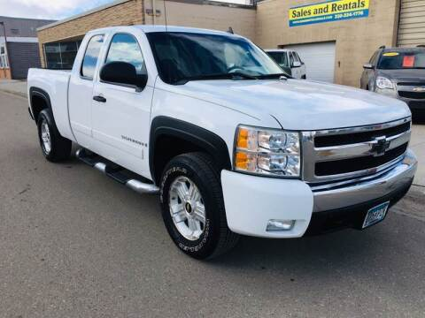 2008 Chevrolet Silverado 1500 for sale at MINNESOTA CAR SALES in Starbuck MN