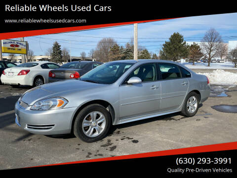 2013 Chevrolet Impala for sale at Reliable Wheels Used Cars in West Chicago IL