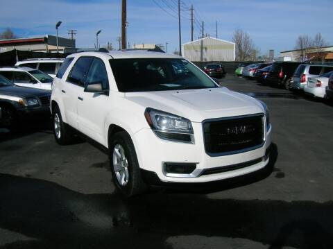 2014 GMC Acadia for sale at Avalanche Auto Sales in Denver CO