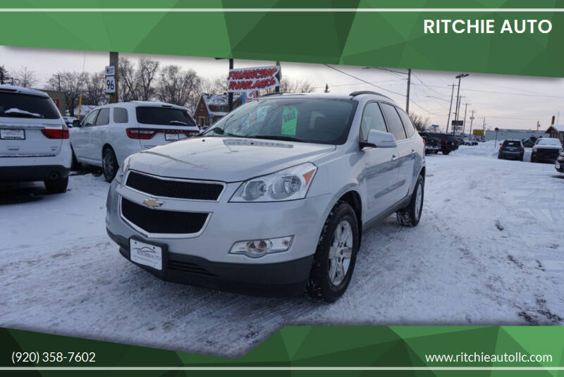 2012 Chevrolet Traverse for sale at Ritchie Auto in Appleton WI
