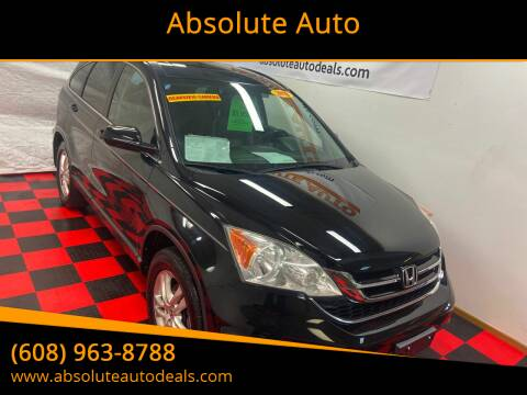2010 Honda CR-V for sale at Absolute Auto in Baraboo WI